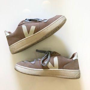 Veja V-10 Bastille Sneakers in Nubuck